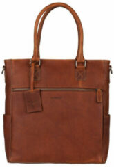 Bruine Boodschappentas Burkely Antique Avery Shopper 13.3 inch