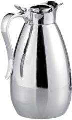 Zilveren Thermoskan 1,0 liter Esmeyer zilverkleur