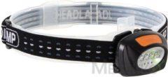 Velleman Perel 2-in-1 hoofdlamp met 4 witte en 3 rode leds ehl11