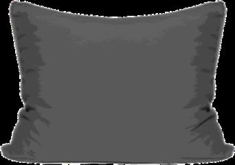 Antraciet-grijze Van Morgen Kussensloop Grey of Light Grey of Light - Antraciet - 60x70cm