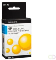 Inkcartridge Quantore HP CB325A 364XL geel