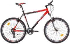 26 Zoll Herren Mountainbike 24 Gang Bikesport All Carter Marlin schwarz-rot