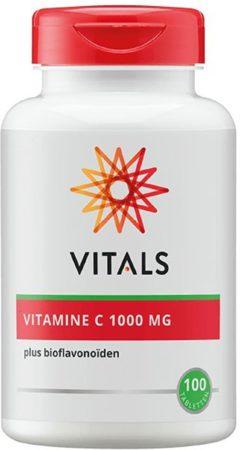 Afbeelding van Vitals Vitamine C 1000 mg Voedingssupplement - 100 tabletten