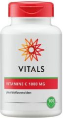 Vitals Vitamine C 1000 mg Voedingssupplement - 100 tabletten