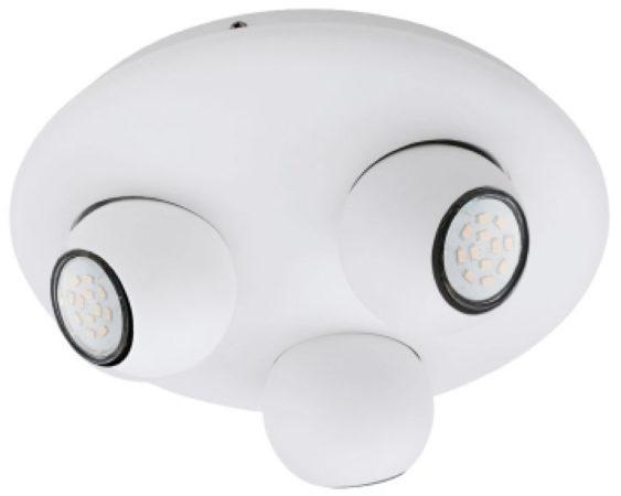 Afbeelding van Witte Eglo NORBELLO 3 Binnen Geschikt voor gebruik binnen GU10 Surfaced lighting spot 5W A+ Wit