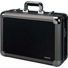 Juscha Multifunctionele koffer Alumaxx Explorer aluminium zwart