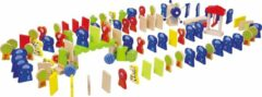 Small Foot Company Small Foot Domino Rally Dierentuin-dieren