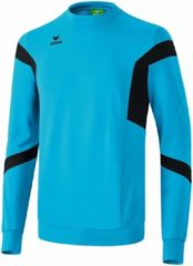 Lichtblauwe Erima Classic Team Sweatshirt - Sweaters - blauw licht - L