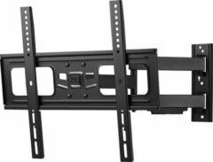 Zwarte One For All WM 2453 TV wall mount 81,3 cm (32) - 165,1 cm (65) Rotatable, Tiltable, Swivelling, Retractable