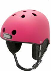 Fuchsia Nutcase Skihelm Party Pink Matte S-M (53-57cm)