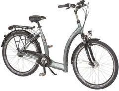 26 Zoll PFAU-TEC S1 grau Damen City Fahrrad mit tiefem Einstieg 3 Gang Pfau-Tec grau