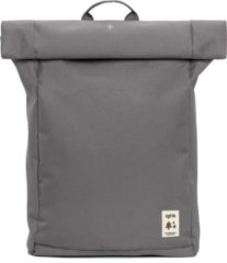 Lefrik Roll Rolltop Laptop Rugzak - Eco Friendly - Recycled Materiaal - 15,6 inch - Grijs
