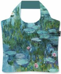 Groene Ecozz Draagtas Waterlelies - Monet