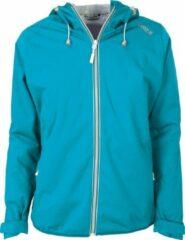 Pro X elements Pro-X Elements - Opbergbare regenjas voor dames - Davina - Neon turquoise - maat 36EU