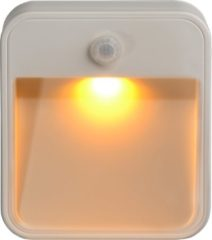 Mr Beams beveiligingsverlichting 2pk Stick Anywhere Light-Amber LED