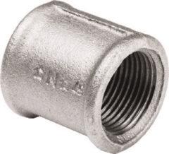 Nefit Industrial draadfitting met 2 aansluiting gegalv 270, gietijzer, sok, model nr. 270