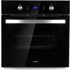 Klarstein Gusteau elektrische inbouw oven 2950W 8 functies zwart