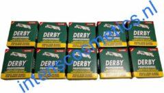 Derby Professional Single Blades voordeelpak 1000 stuks -barbers -kapper - scheermes- scheren