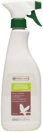 Afbeelding van Versele-Laga Oropharma Jungle Shower Verenconditioner - Vogelsupplement - 500 ml