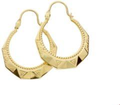 The Jewelry Collection Quickjewels - oorringen Lapide Geelgoud Glanzend
