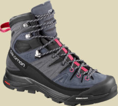 Rosa Wanderstiefel X ALP HIGH LTR GTX 401656 mit hohem Schaft Salomon Crown Blue/Graphite/Virtual Pink