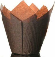 Culpitt Papieren Muffinvormpjes Bruin pk/50