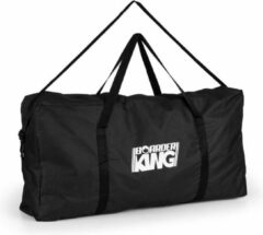 Zwarte BoarderKING Kunststof tas voor balance board indoorboard kunststof