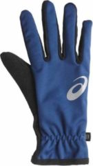 Asics Runners Performance Touch winterhandschoenen blauw uni
