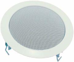 Visaton DL 18/1 RAL 9010 Inbouwluidspreker 6 W 100 V Wit 1 stuk(s)