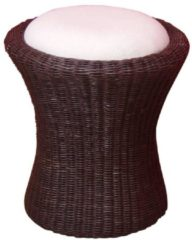 Möbel direkt online Moebel direkt online Rattan-Sitzhocker Sitzhocker handgeflochten