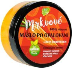 BIO Vivaco 100% natuurlijke Aftersun Body Butter met Wortel Extract, Shea Butter en Bijenwas - 150ml - Het regenereert de huid en zorgt voor het behoud van een langdurige bruine kleur.