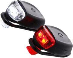 Rode Discountershop Fiets Lampjes met led verlichting Siliconen