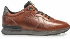 Floris van Bommel Mannen Sneakers - 16277 led - Cognac - Maat 46