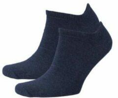 Blauwe Tommy Hilfiger sneakersokken (2 paar)