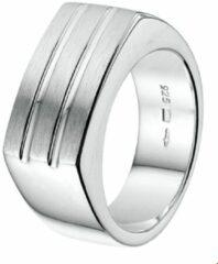 Huiscollectie Zilveren Ring poli/mat 19.50 mm (61)