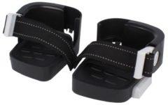 Zwarte Bobike Exclusive Mini - Voetenbakjes Fietsstoeltjes voor