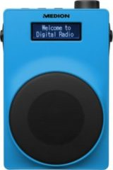 MEDION® LIFE® E66880 DAB+/UKW-Radio, USB, Kopfhöreranschluss, 30 Watt (3 Watt RMS) blau