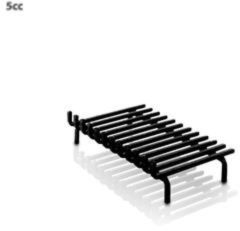 Zwarte Heibi vuurbok 55 x 40 cm 1-zijde
