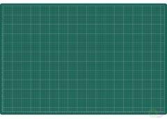 Snijmat Rillstab A1 900X600mm groen