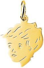 Goudkleurige The Jewelry Collection Bedel Jongen - Geelgoud