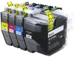 Cyane Goedkoopprinten Brother LC-3219XL inkt cartridge Multipack - Huismerk