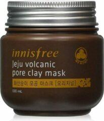 Bruine Jeju Volcanic Pore Clay Mask - Kleimasker van Innisfree - Koreaanse skin care
