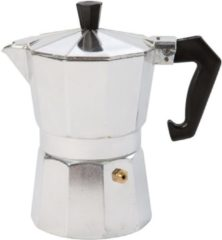 Zilveren Bo-Camp Percolator - Espresso maker - 3-Cups - Aluminium