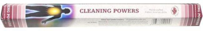 Afbeelding van Groene Green Tree Candle Company Green Tree Wierook Cleaning Powers (6 pakjes van 20gr.)