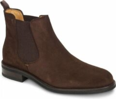 Steppin' Out Mannen Chelsea 2 Boot Suede Bruin Suède Maat: 46
