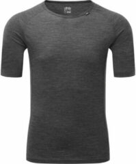 Licht-grijze Dhb M 150 ondershirt van merinowol (korte mouwen, grijs) - Onderkleding