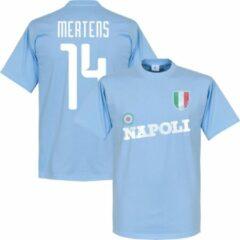 Merkloos / Sans marque Napoli Mertens 14 Team T-Shirt - Lichtblauw - M