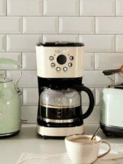 Creme witte Korona 10666 - retro koffiezetapparaat - crème