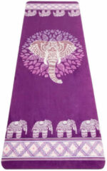 JAP Sports Antislip Yoga mat - Trainings mat - Fitnessmat - Yogamat - Sport matje - Elephant