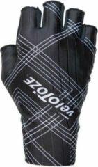 Velotoze Fietshandschoenen Aero Glove Polyester/nylon Zwart Mt L